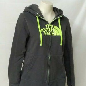 The North Face Hoodie Womens L Gray Long Sleeve
